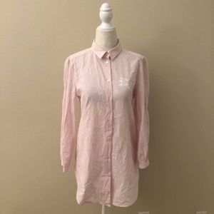 Authentic Burberry pink shirt